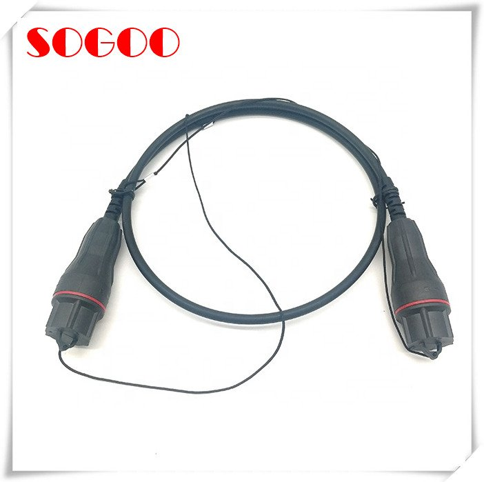 5G Cable FULLAXS Connector Compatible FTTA Unarmored - Fullaxs outdoor fiber optical patch cable compatible to Ericsson