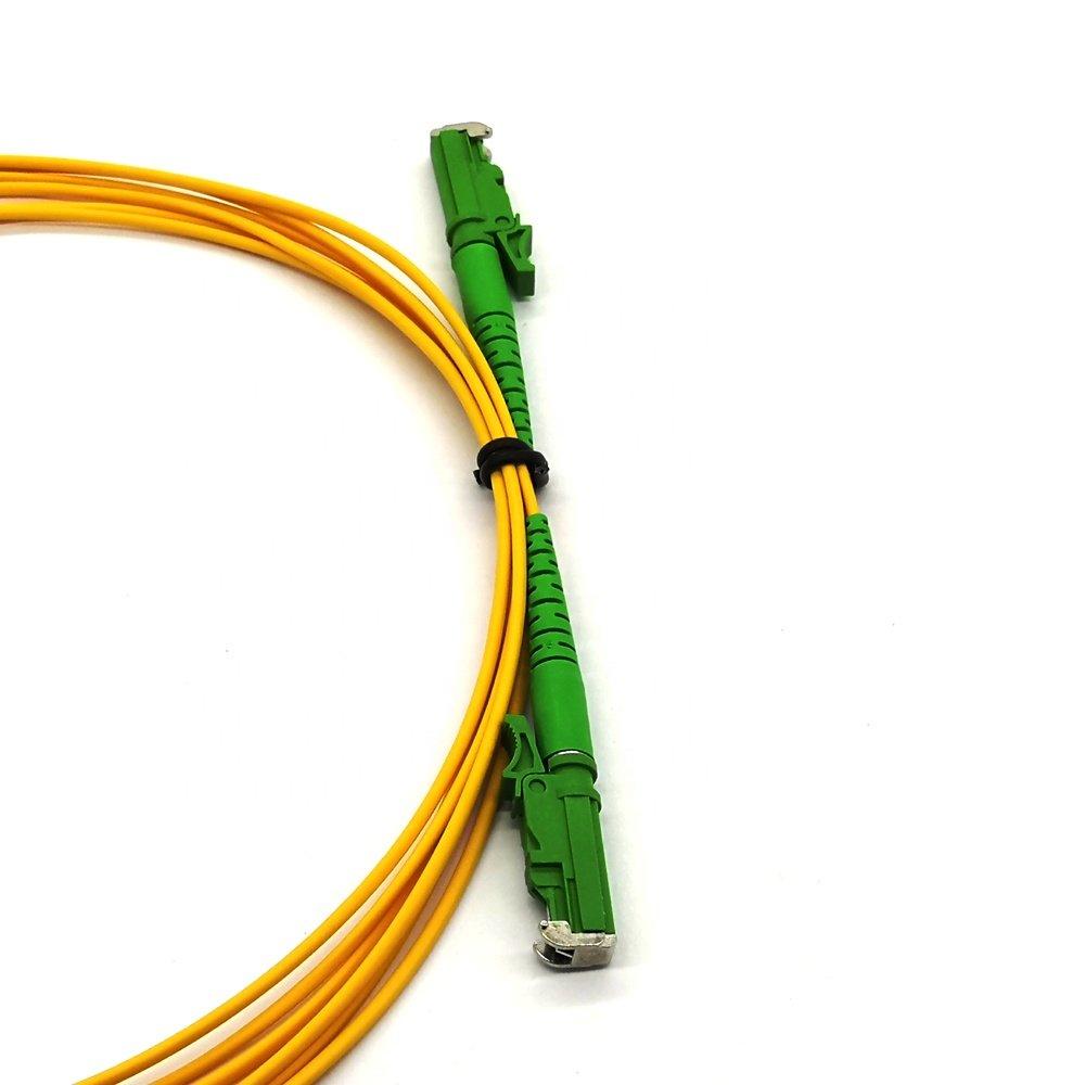 e2000 fiber patch cord 2 - Simplex Single mode  Fiber Jumper e2000 fiber patch cord