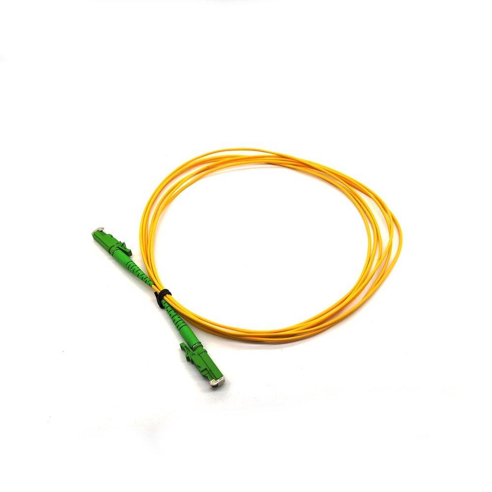 e2000 fiber patch cord 4 - Simplex Single mode  Fiber Jumper e2000 fiber patch cord
