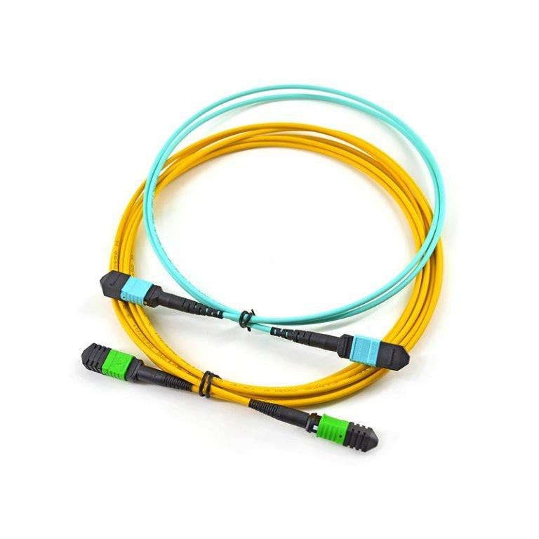 mpo fiber patch cord 4 768x768 - MPO to MPO Fiber Optic Patch Cord 12f LSZH 3.0m low loss MPO Trunk Cable